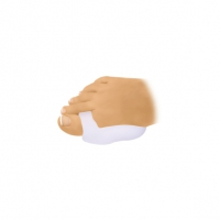 拇指外翻厚凝膠保護套