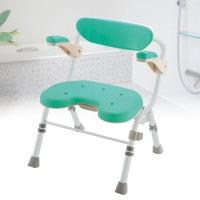 可收摺洗澡椅U型