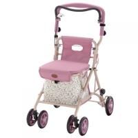 購物步行車CT型-花漾粉