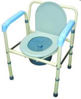 鐵製便器椅-硬墊