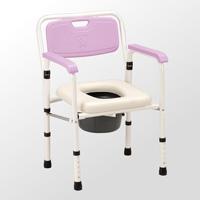 鐵製軟墊收合便器椅-JCS-102