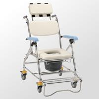鋁合金背可調收合洗澡便器椅-JCS-207