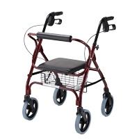 鋁合金四輪助行車-經濟型