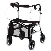 鋁合金四輪助行車-多功能型