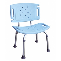 鋁合金洗澡椅(附靠背)-YH122-1