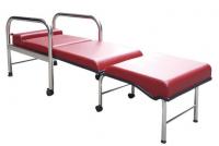 YH017-1 加寬型坐臥兩用陪伴床椅(不鏽鋼)