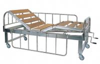 YH006 不鏽鋼三折二搖式病床