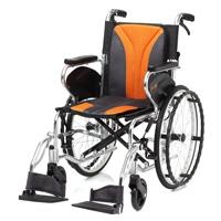 鋁合金掀腳輪椅-輕巧型-JW-250