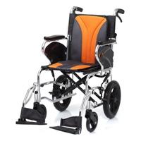 鋁合金掀腳輪椅-看護型-JW-350
