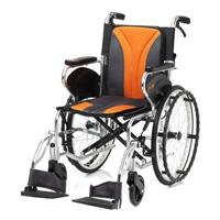 鋁合金掀腳輪椅-一般型-JW-450