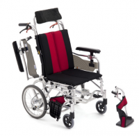 日本MIKI 鋁合金輪椅MP-Ti DX空中傾倒型