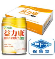 益力康 優蛋白營養配方含纖