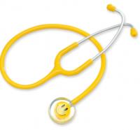 黃色笑臉單面聽診器