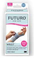 FUTURO For Her 纖柔細緻剪裁護腕-高度支撐型(右手)