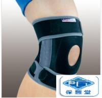棉質展開式矽質護膝