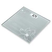 德國博依 典雅花卉玻璃體重計-GS10